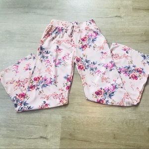 Joe B Pink Floral Casual Pants Size Small
